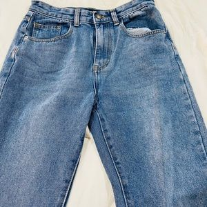 Nasty Gal Jean Ankle Pants. Size 8, fits size 6!!